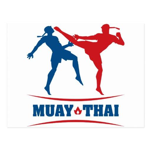 Muay Thai Post Cards
