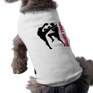 Muay Thai Sleeveless Dog Shirt