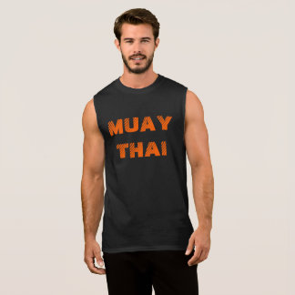 Muay Thai Sleeveless Shirt