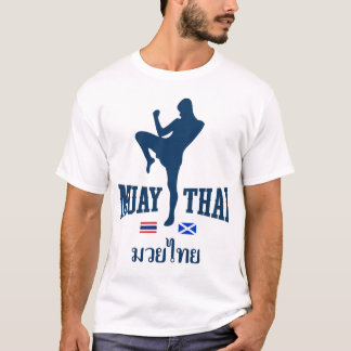 Muay Thai Thailand Scotland T-Shirt