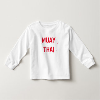 Muay Thai Toddler T-Shirt