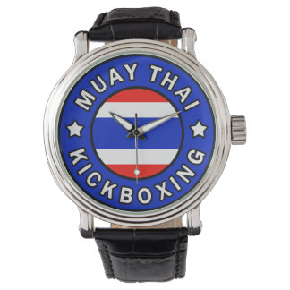 Muay Thai Wrist Watch