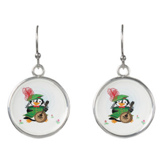 Much Ado About Penguins Earrings