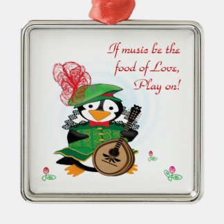Much Ado About Penguins Ornament