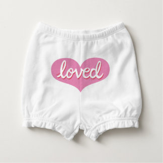Much Loved - Baby girl diaper Bloomers Nappy Cover