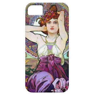 Mucha Amethyst iPhone 5 Covers