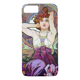 Mucha Amethyst iPhone 7 Case