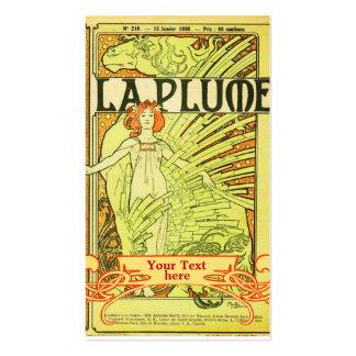 Mucha Art Nouveau - Art Deco Business Cards