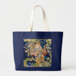 Mucha Art Nouveau: Woman With Daisy Jumbo Tote Bag
