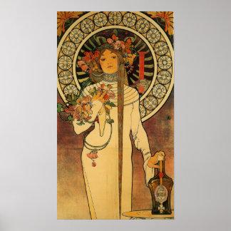 Mucha La Trappistine Poster