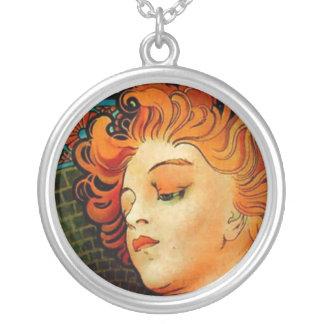 Mucha Lance Parfum Rodo Round Pendant Necklace