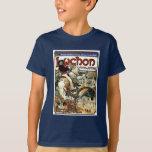 Mucha - Luchon -  Casino  -Art Nouveau T-Shirt