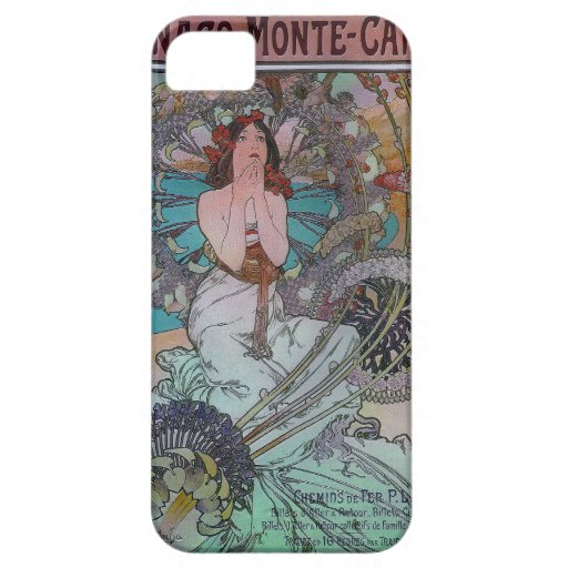 Mucha Monte Carlo Case For iPhone 5/5S