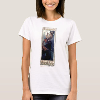 Mucha Polar Star Art Deco T-Shirt