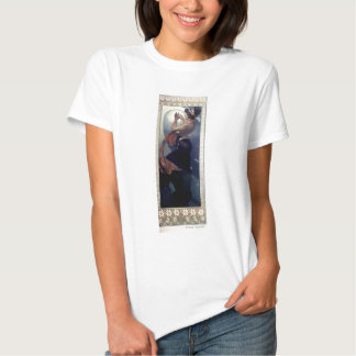 Mucha Polar Star Art Deco T Shirts