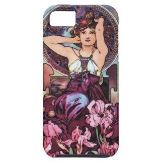Mucha Poster Art Nouveau i Phone 5 Case