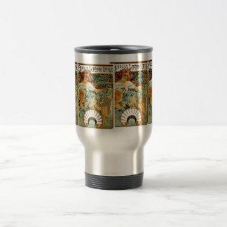 Mucha Thermos/ Thermal Mug-:Biscuits Lefevre Utile Stainless Steel Travel Mug