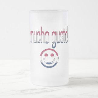 Mucho Gusto America Flag Colors Coffee Mug