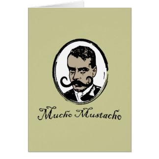 Mucho Mustacho - Zapata Card