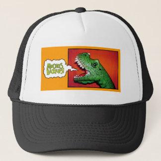 Muchos Backflips! T-Rex Trucker Hat. Trucker Hat