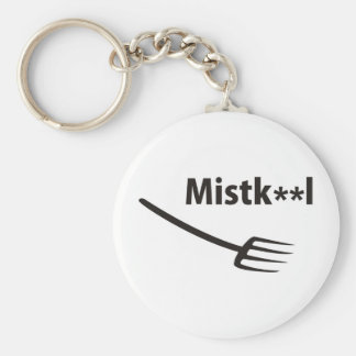 Muck chap basic round button key ring