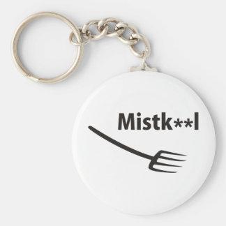 Muck chap basic round button key ring