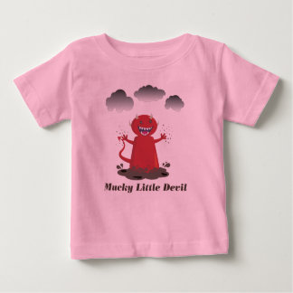 Mucky Little Devil baby T Baby T-Shirt