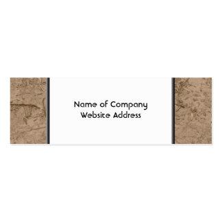 Mud. Brown Muddy Ground. Business Card Templates