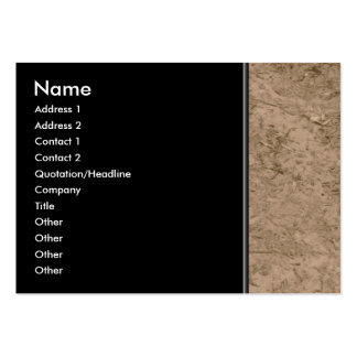 Mud. Brown Muddy Ground. Business Cards
