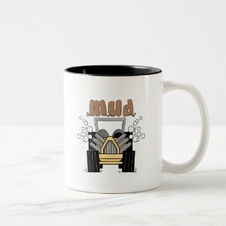 Mud Buggy Tshirts and Gifts Two-Tone Mug