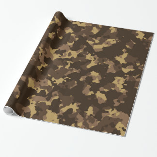 Mud Camo Wrapping Paper