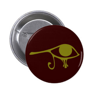 Mud Green Eye of Horus Buttons