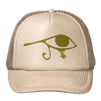 Mud Green Eye of Horus Hats