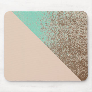Mud Lover Peach and Mint Splash Style Mouse Mat