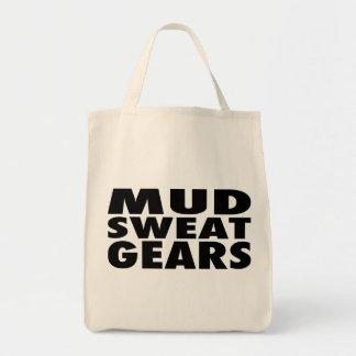 MUD SWEAT GEARS GROCERY TOTE BAG