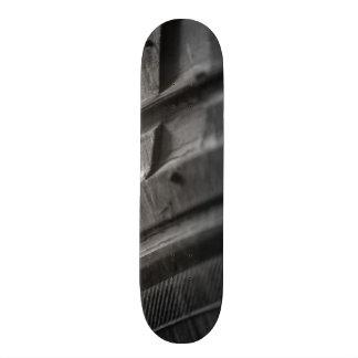 Mud Tire Tread Photo Skate Board Deck