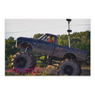 Mud Truck Poster