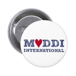 MUDDI INTL Series zum Muttertag 6 Cm Round Badge