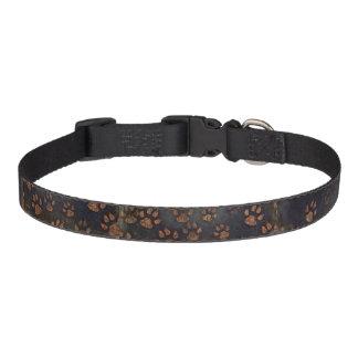 Muddy Pawprints Dog Collar - Medium
