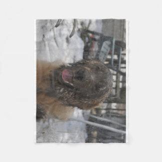 Muddy Puppy Fleece Blanket