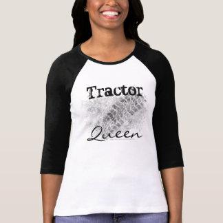 Muddy Tractor Tire Tread, Tractor Queen T-Shirt