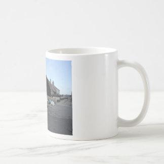 Mudeford Quay on a windy day. Coffee Mug