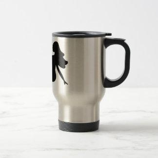 Mudflap Girl Stainless Steel Travel Mug