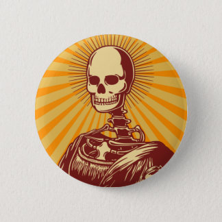 Muerta Lisa 6 Cm Round Badge