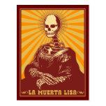 Muerta Lisa Postcard