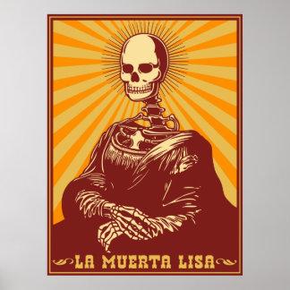 Muerta Lisa Print