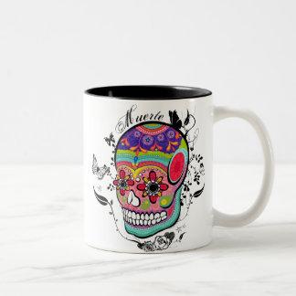 Muerte Day of the Dead Illustration Mug