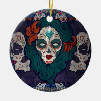 Muerto Ladies Christmas Ornament