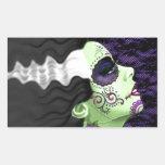 Muertos Bride Rectangular Sticker