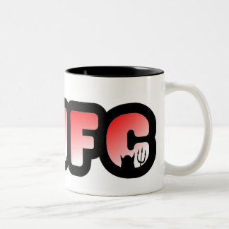 Mufc Two-Tone Coffee Mug